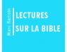 Lectures sur la Bible