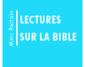 Lectures sur la Bible